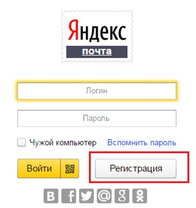 Адрес Яндекс почты