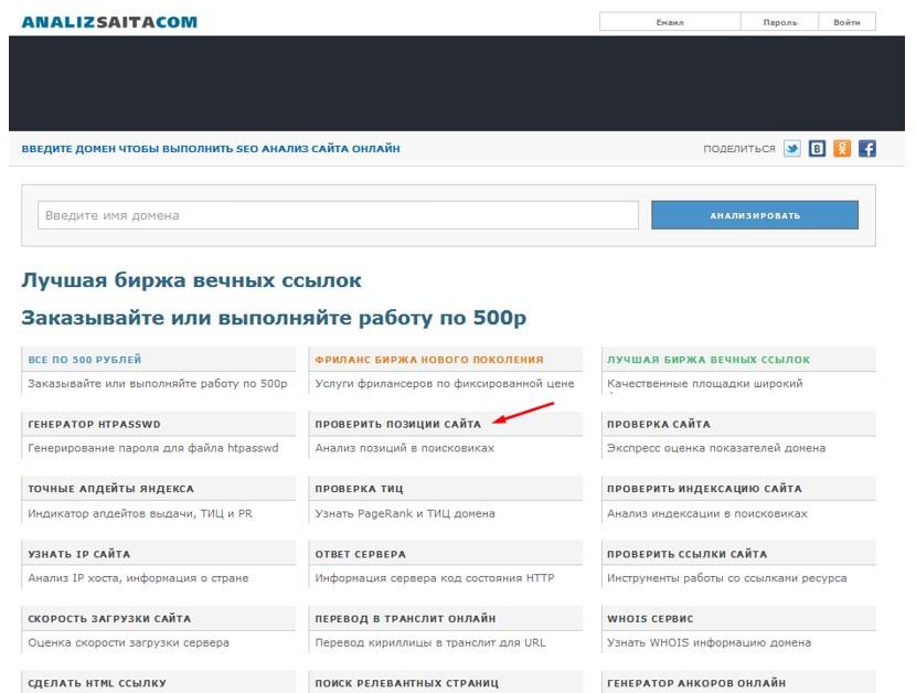 Analizsaita.com