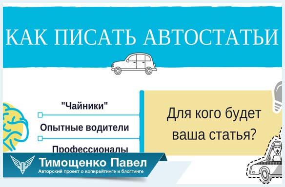 Павел Ямб об автомобильных статьях